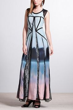 Hazy Woods Maxi Dress