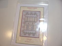 Gentle Touch Hardanger Embroidery Pattern by by GriffithGardens