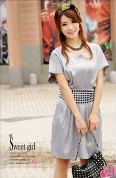 Elegant Detachable Belt Short Wide Leg Dress on BuyTrends.com, only price $10.13