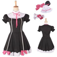Live Snow Halation U'S Niko Yazawa Black Dress Cosplay Costume with delicate design. Buy it here: http://www.efunlive.com/products.php?product=Love-Live-Snow-Halation-U%27S-Niko-Yazawa-Black-Dress-Cosplay-Costume