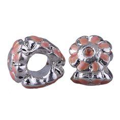 13x10mm Alloy Enamel Beads Fit European Charm Bracelets Jewelry Coral Flower http://www.eozy.com/13x10mm-alloy-enamel-beads-fit-european-charm-bracelets-jewelry-coral-flower.html