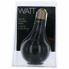 Watt Black by Cofinluxe, 6.8 oz Eau De Toilette Spray for Men