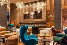 Motel One Glasgow | Scotland - A budget hotel by German chain Motel One with a subtle railway theme and contemporary design. The handy location adjacent to Glasgow Central Station makes it an ideal base for a city break or pit stop en route to other parts of Scotland.