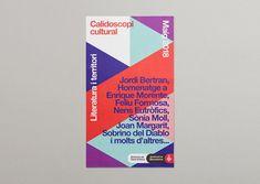 Calidoscopi Cultural 2018 on Behance