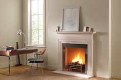 Feature Fireplace - Home Office Ideas – Furniture, Design & Decorating (houseandgarden.co.uk)