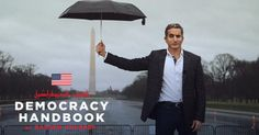 'Democracy Handbook' is Egyptian comedian Bassem Youssef's journey across the U.S. exploring the ins and outs of our society.