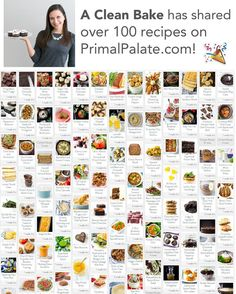 @nora_acleanbake has hit triple digits on the number of recipes she's shared on Primal Palate - and is the first contributor to hit this milestone number!!   We're celebrating her today so go give her a follow then click the link in our profile to view her big beautiful collection of work on our site! It's all available to use in our free online meal planner too!  CONGRATS Nora!!  #primalpalate #acleanbake