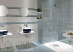 Fox Blanco-Azul Bathroom Wall Tile