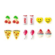 Katy Perry Katy's Favorites Stud Earrings Set of 6