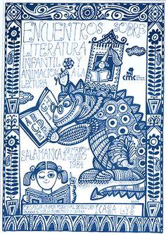 Encuentros sobre literatura infantil y animación a la lectura: Salamanca 28 mayo 2 junio 1984 / Luis de Horna ; organiza la Casa Municipal de Cultura (1984)