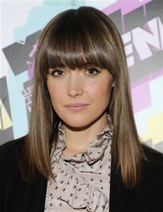 rose byrne bangs - Google Search