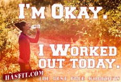 HASfit Motivation to Exercise fittness