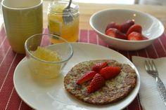 Pancakes senza farina e senza uova