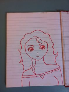 I haven't put anything up in a while so... I know it isn't good I drew it in my dad's diary