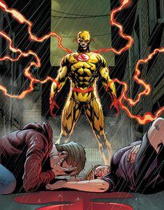 xXx Reverse Flash by Jason Fabok