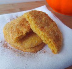 Pumpkin Snickerdoodle Cookie Recipe – Gluten Free, Vegan, Vegetarian, Healthy