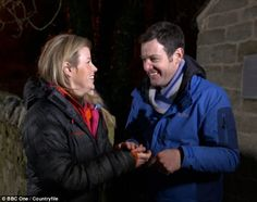 Steamy: Countryfile viewers were left flabbergasted by the 'kinky' episode on Sunday, which saw presenters Ellie Harrison and Matt Baker take a bath together Matt Baker, Female Celebrities, Kinky, Sunday, Take That, Bath, Film, Fictional Characters, Movie
