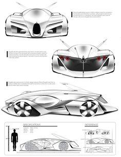 Bugatti 100p concept 2015