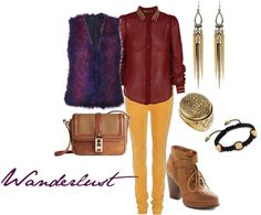 """Wanderlust"" by westernglamour on Polyvore"