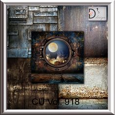 Vol. 918 - steampunk papers - by Doudou's Design