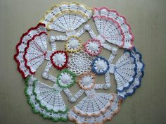 Circle of Hope...so pretty!  Wish I knew a little more about crochet!