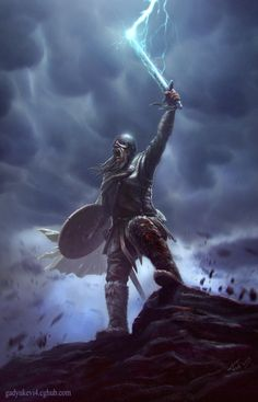 Thor blessing by Gadyukevi4.deviantart.com on @deviantART