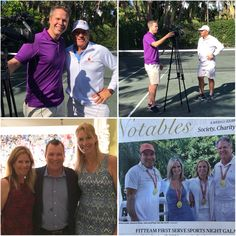Don't miss @wpeccbs12 Sports Palm Beach News: John Evenson talks to @johankriek about the importance of the First Serve Charity event that is taking place this weekend at Paul and Joan Van Der Grift's house. Johan Kriek as well as other former pro players gathered together for a tennis pro-am to help First Serve founder, Paul Van Der Grift, raise money to help underprivileged children in the Palm Beach community.