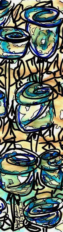 Roses  17-4-16  cafè retolador punt s Dolors Buch Castañer