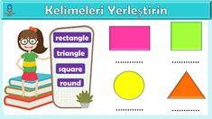 3. Sınıf İngilizce dersi My Home ünitesi etkinliği Triangle Square