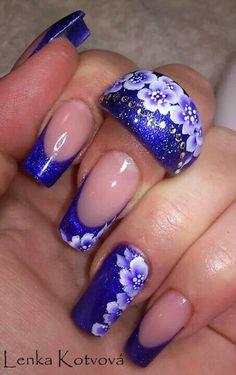 By Lenka The Art Of Nails, Younique, Nail Designs, Swag, Girly, Nail Art, Magic, Beautiful, Pretty Nails