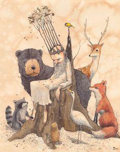 #fox #illustration #foxy