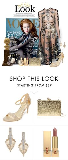 """""""Amy Adams"""" by dgia ❤ liked on Polyvore featuring Valentino, MICHAEL Michael Kors, Kate Spade, VANINA, Yves Saint Laurent and Versace"""