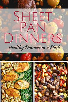 Our Favorite Sheet Pan Dinners for Busy Weeknights ] Sheet Pan Dinners are quick, healthy and easy a Summer Recipes, Healthy Dinner Recipes, Xmas Recipes, Healthy Chef, Healthy Dinners, Eating Healthy, One Pot Meals, Easy Meals, New Cooking