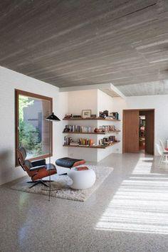 Fotogalerie: Vracející se trend: Lité podlahy v interiéru