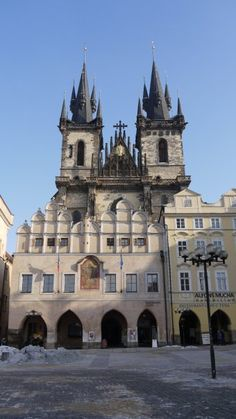 Our Lady before Tyn Church, Old Town Square, Prague