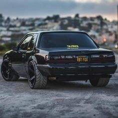 Fox Body Mustang, Mustang Cobra, Ford Mustang, Custom Muscle Cars, Best Muscle Cars, Us Cars, Sport Cars, Nissan, Mustang Wallpaper