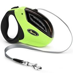 Pecute Retractable Dog Leash - Easy One Button Brake & Lock - Extends up to 5 Meters of Freedom and Protection - Pulling Force up to 110 lbs