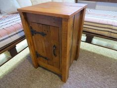 DIY Rustic Styled Pallet Floor Cabinet | 101 Pallets