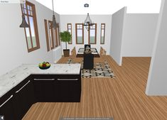 Renderings that show how the interior could be restored for a historic house. Decor, Furniture, House, Interior, Old Kitchen, Historic Homes, Home Decor, Kitchen, Restoration