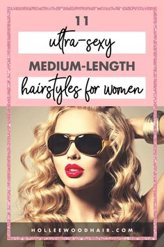 Are you looking for the cutest medium length hairstyles around? Well, I'd love to share a few of the hottest styles I could find with you. The third style is my absolute favorite! Twist Hairstyles, Pretty Hairstyles, Hairstyle Ideas, Hair Ideas, Cute Medium Length Hairstyles, Medium Hair Styles, Hair Facts, Magic Hair