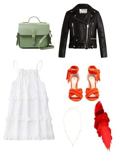 """""""Sans titre #57"""" by lelepog ❤ liked on Polyvore featuring Nicholas Kirkwood, The Cambridge Satchel Company, Maybelline, ZoÃ« Chicco and Acne Studios"""