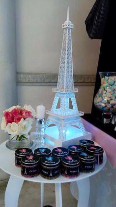 Paris centro de mesa