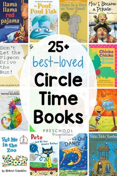 These beloved picture books are perfect to read aloud at circle time! Timeless classics as well as some new titles you will cherish. You can't go wrong with these books for preschool and kindergarten kids!