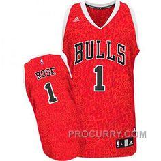 sale retailer 4f1dd d9f7a Derrick Rose Chicago Bulls 1 Crazy Light Leopard Swingman Jersey, Price  68.00 - Stephen Curry Shoes Under Armour Store Online