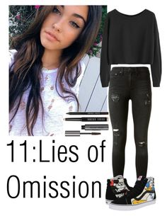 """Teen wolf"" by teddy-bear-princess on Polyvore featuring Mode, rag & bone, Vans und Bobbi Brown Cosmetics"
