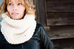 knit scarf  the WINDSOR WARMER knit cowl in by lucky14handmade, $65.00