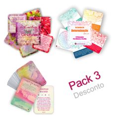 Pack 3 Baralhos