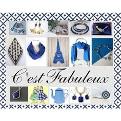 C'est Fabuleux: Handmade & Vintage Gifts for Her by paulinemcewen on Polyvore featuring Lazuli, rustic, vintage and country