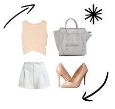 Night by celine-o on Polyvore featuring polyvore, fashion, style, Jonathan Simkhai and Madden Girl