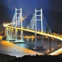 마창대교, S라인 Changwon,Korea
